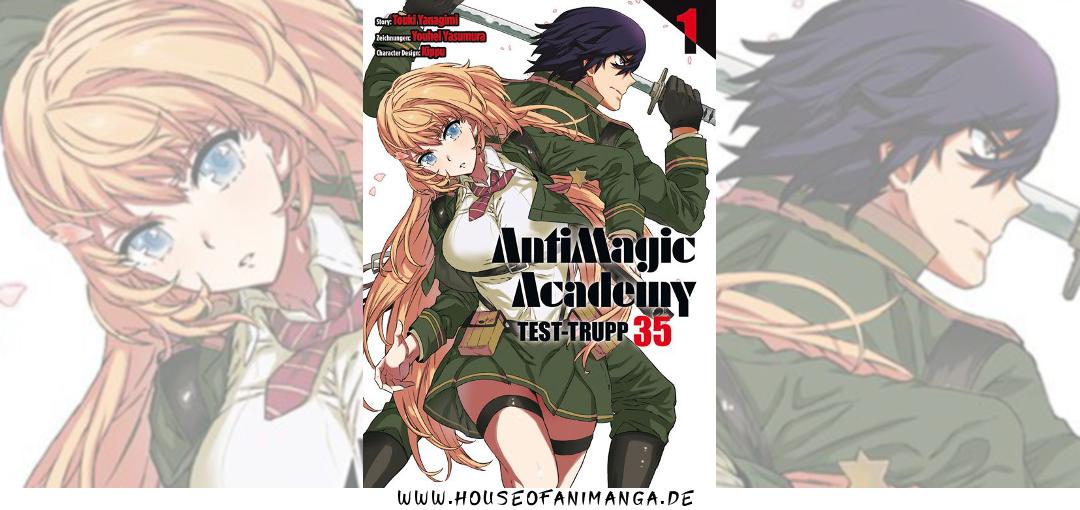 AntiMagic Academy Test-Trupp 35