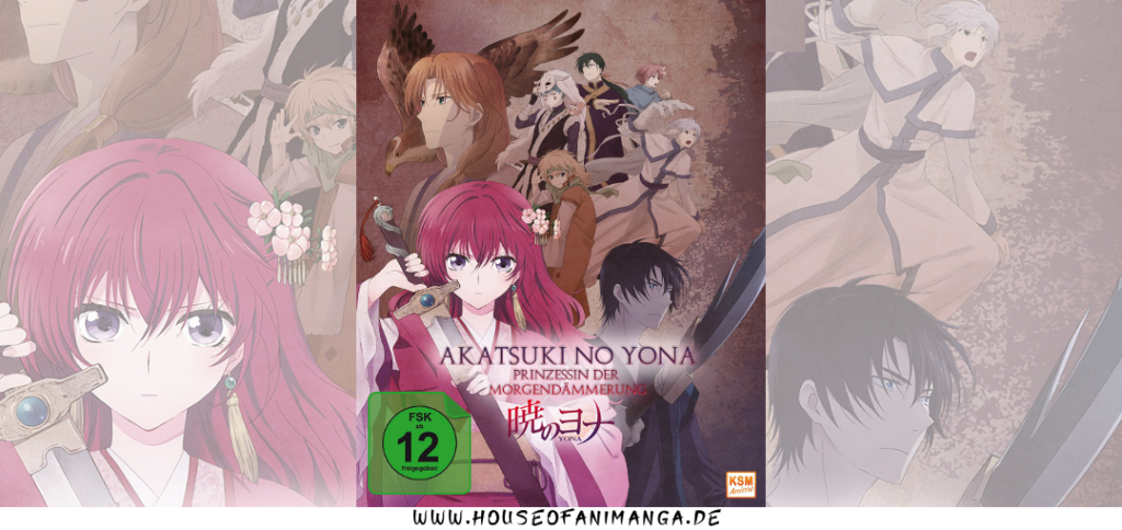 Anime Review Akatsuki No Yona
