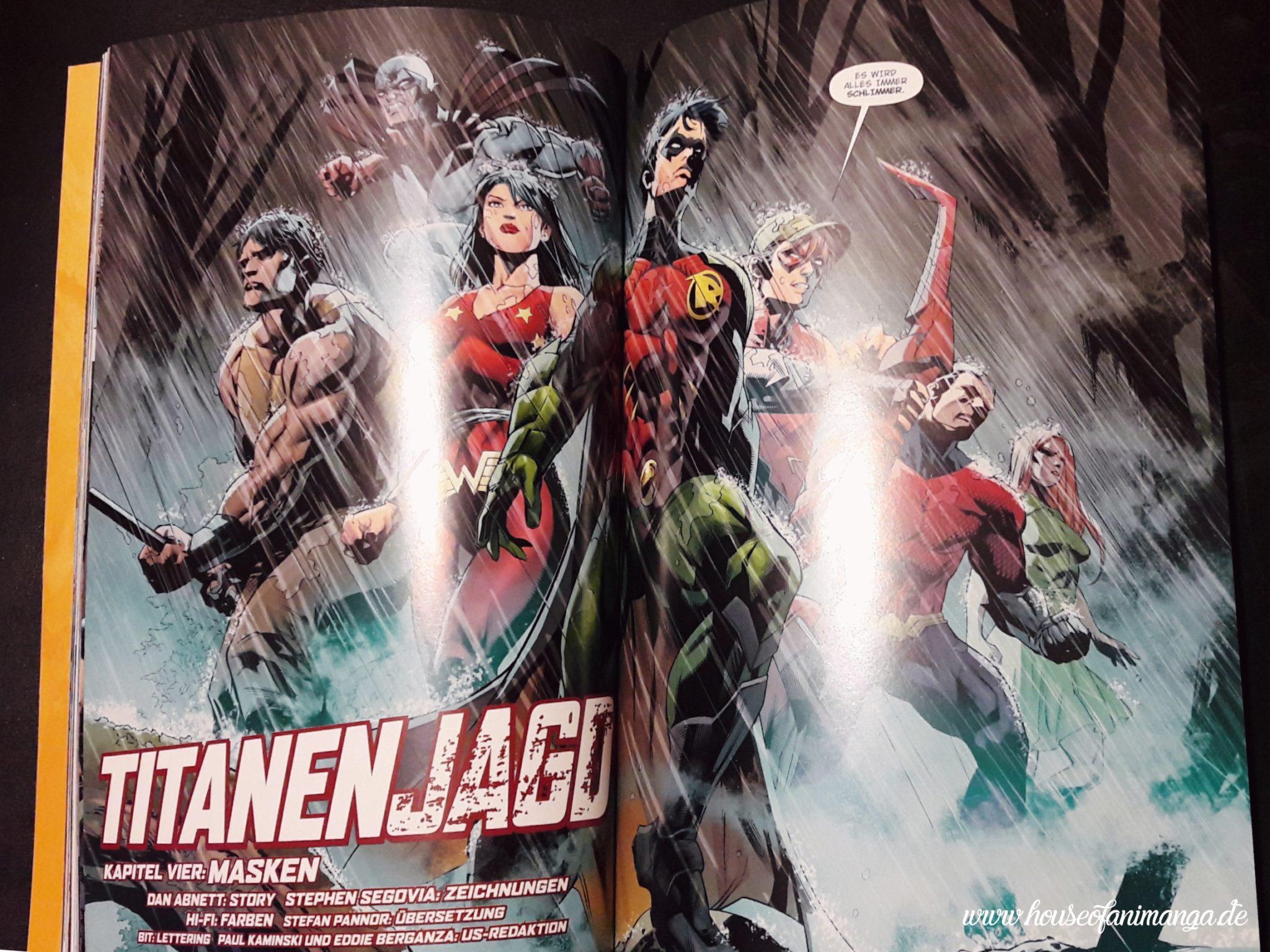 Comic Review: Titans Hunt - Vorgeschichte zu Rebirth - House of Animanga