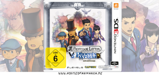 Professor Layton vs. Phoenix Wright - Ace Attorney
