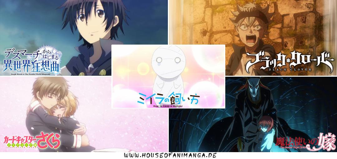Anime Winter Season 2017/2018