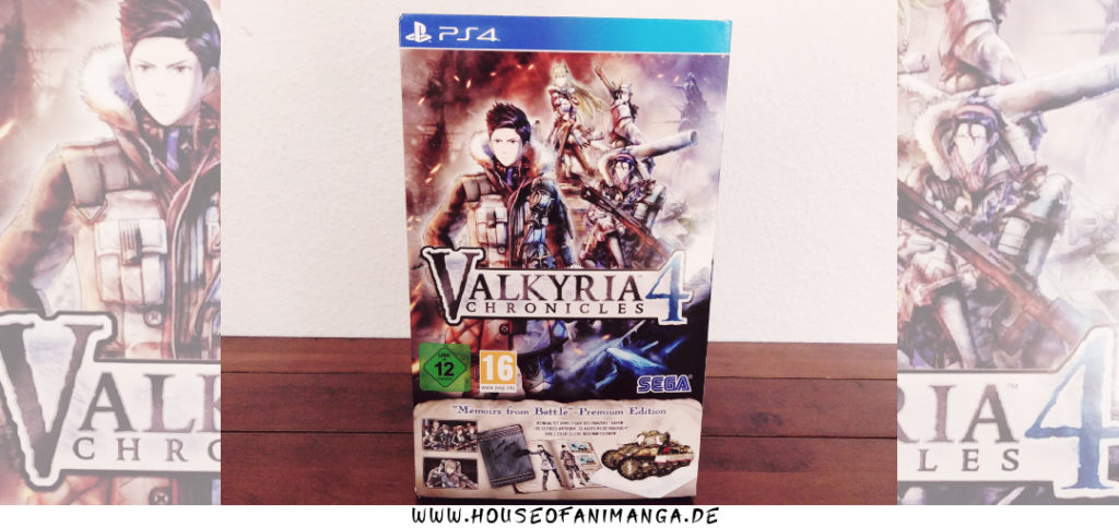 valkyria chronicles 4 memoirs from battle premium edition unboxing